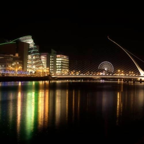Dublín iluminado