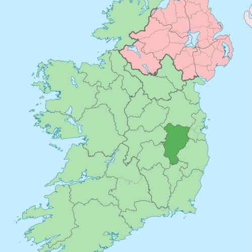 Situación de Kildare en el mapa