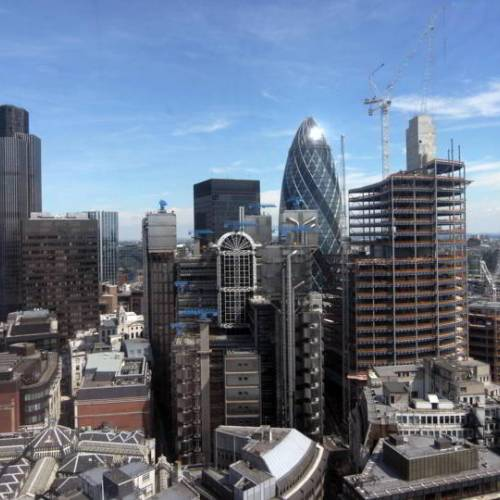 Zona financiera de Londres