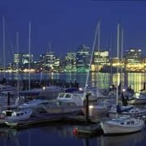 El puerto de Halifax, en torno al cual nació la ciudad