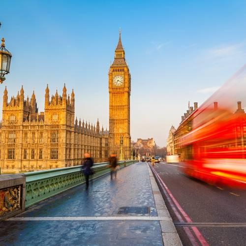 Panorámica del Parlamento de Londres