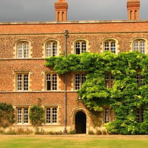 Palacete típico inglés en Cambridge