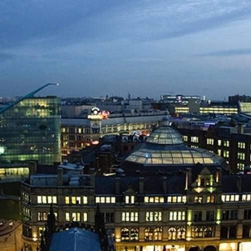 Panorámica de Manchester