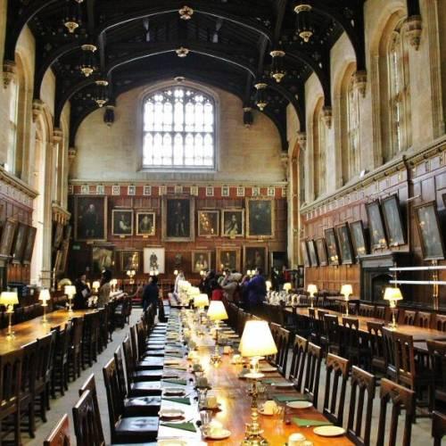 Comedor de la Universidad de Oxford