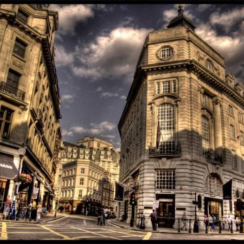 Calle del centro de Oxford