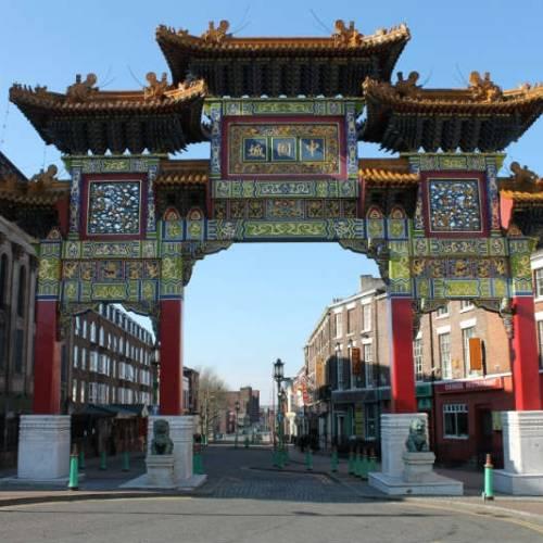 Barrio chino en Liverpool