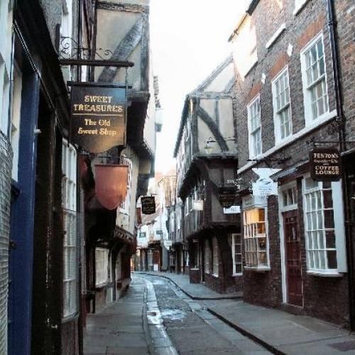 Calle típica de York