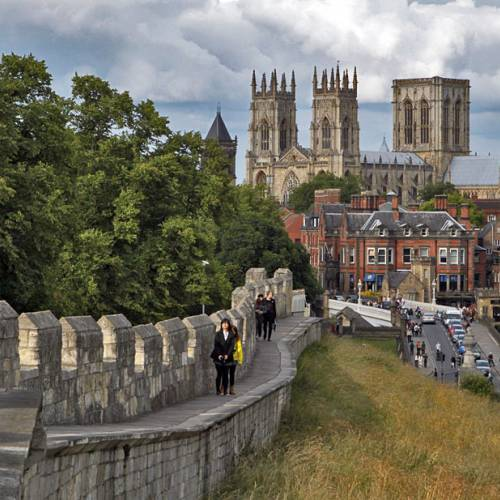 Catedral y muralla de York