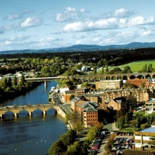 Panorámica de Worcester