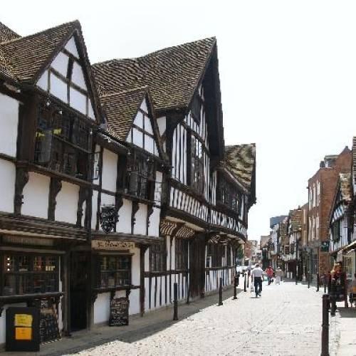 Calle tipica de Worcester