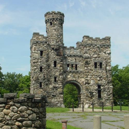 Ruinas medievales en Worcester