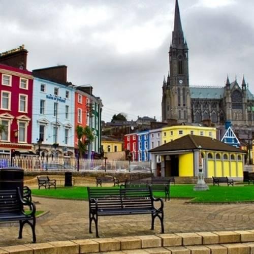 Casitas de colores en Cork