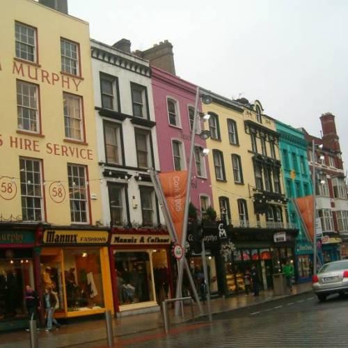 Calle típica de Cork