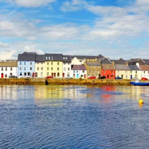 Panorámica del puerto de Galway