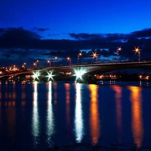 Panorámica nocturna de Wexford