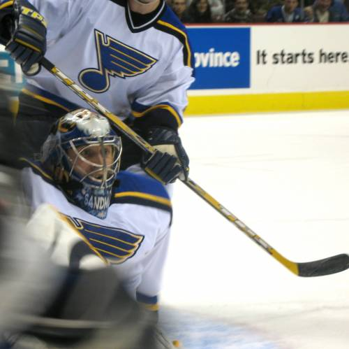 Jugadores de hockey sobre hielo en Vancouver