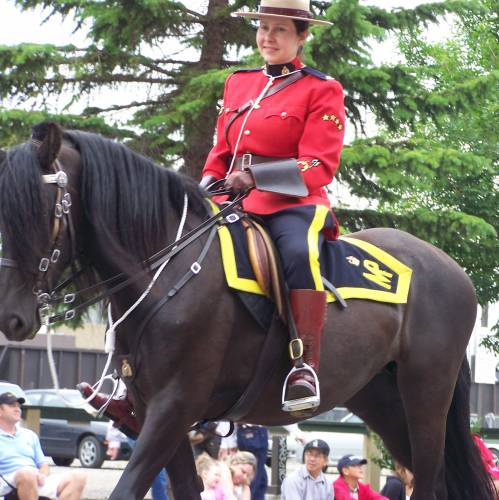Policía Montada del Canadá