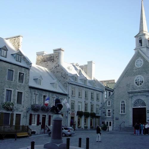 Basse-ville, Québec, zona francófona