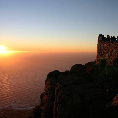 Puesta de sol en Table Mountain