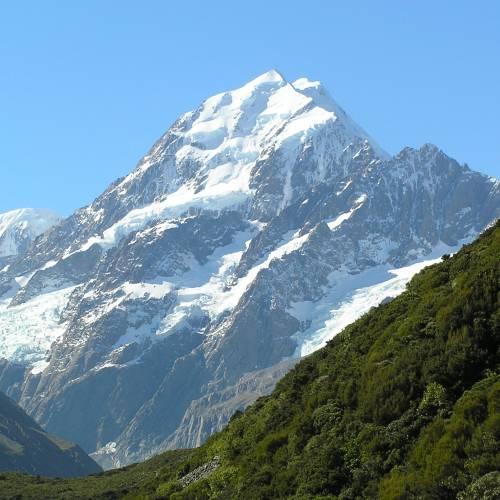 Monte Cook, el más alto de Nueva Zelanda