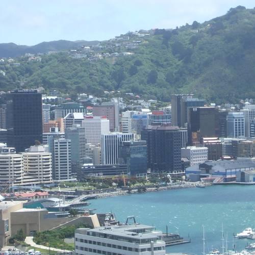 Wellington, capital de Nueva Zelanda