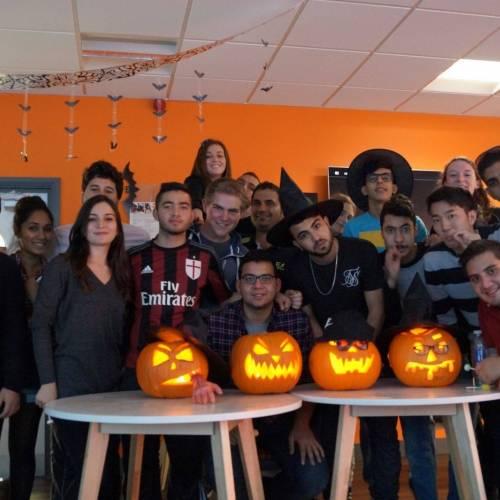 Fiesta de Halloween en EC
