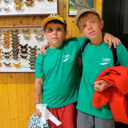 Niños irlandeses en nuestros campamentos de 2021