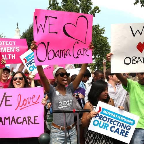 Ciudadanos a favor del Obamacare