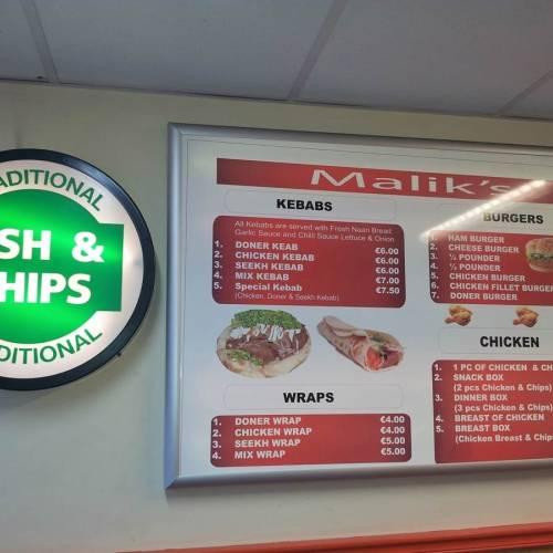 foto de sitios de comida rapida en Irlanda