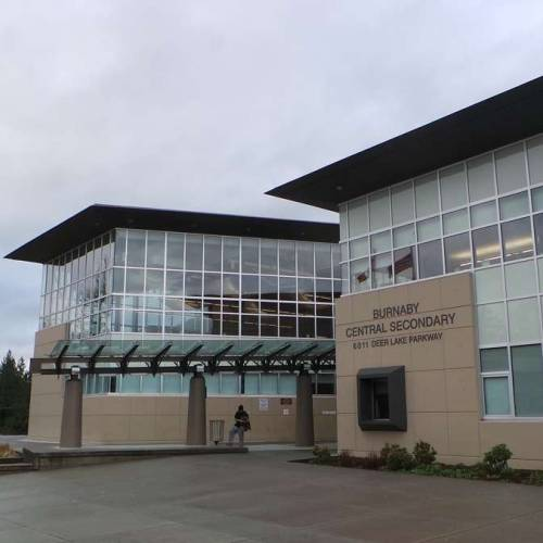 colegios del distrito escolar de Burnaby