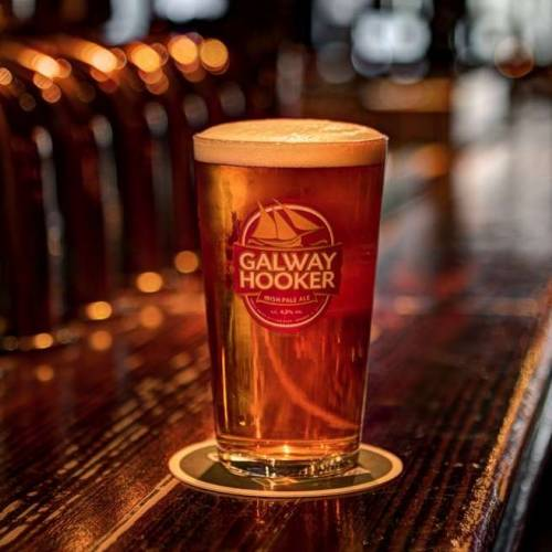 Tipos de cerveza de Irlanda - Galway Hooker