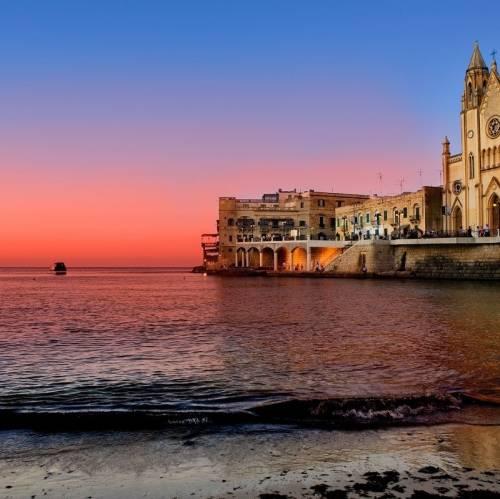 Atardecer en Malta