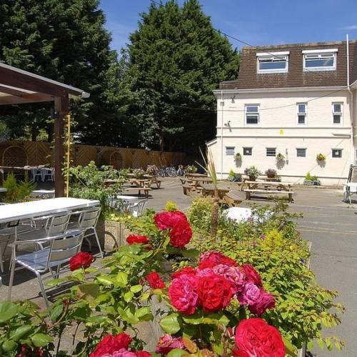 Jardín de la escuela en Bournemouth