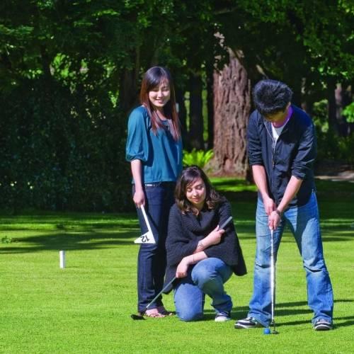 Practica el golf en Victoria