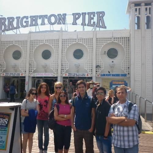 Visita al famoso Brighton Pier