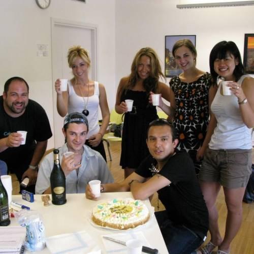 Fiesta de cumpleaños en Scuola Leonardo