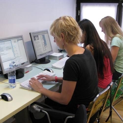 Scuola Leonardo, sala multimedia