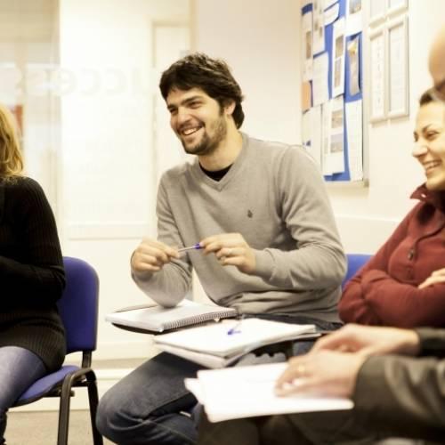 Escuela de inglés en el centro de Londres