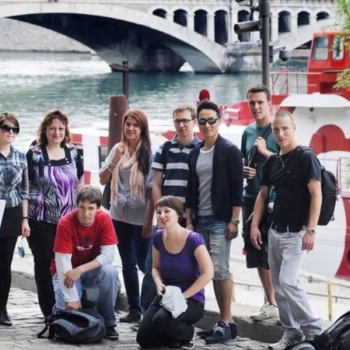 Paseo en barco por los ríos Ródano y Saona, Lyon