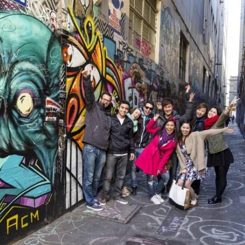 Arte urbano en Union Lane