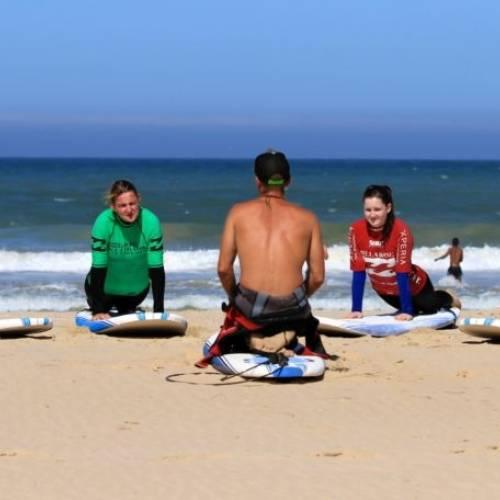 Clases de surf en Jeffreys Bay