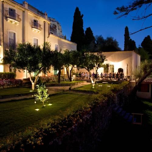 La noche siciliana se disfruta al aire libre