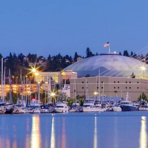 Puerto deportivo de Tacoma.