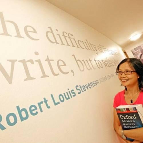 Cita del escritor escocés Robert  Louis Stevenson