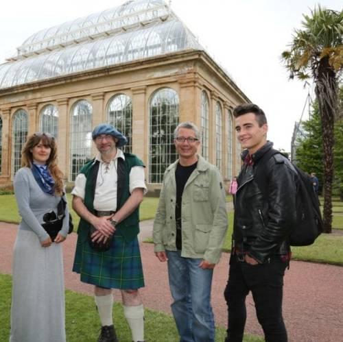 Visita al Jardín Botánico, Edimburgo