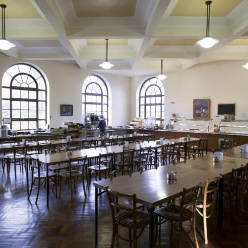 Restaurante del campus de Milltown Park