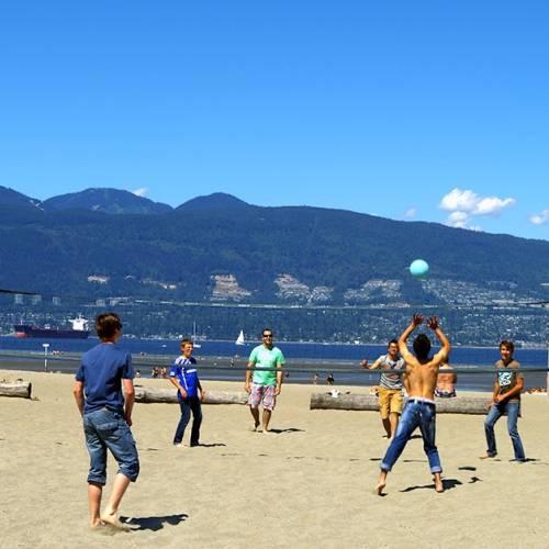 Volley playa en Vancouver