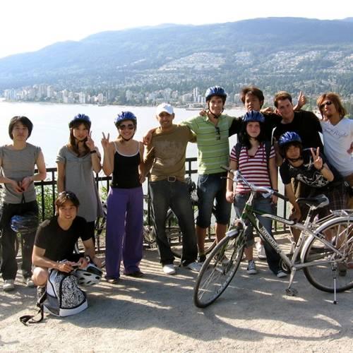 Excursión en bicicleta por Stanley Park