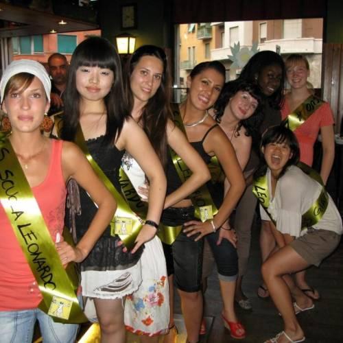 Fiesta de Miss Scuola Leonardo, Milan