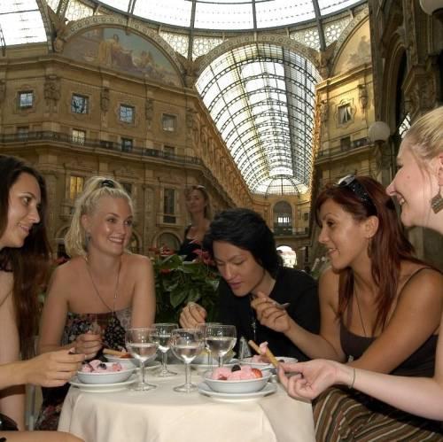 Galleria Vitorio Emanuele Milan, Italia
